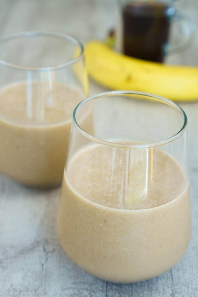 banana coffee smoothie