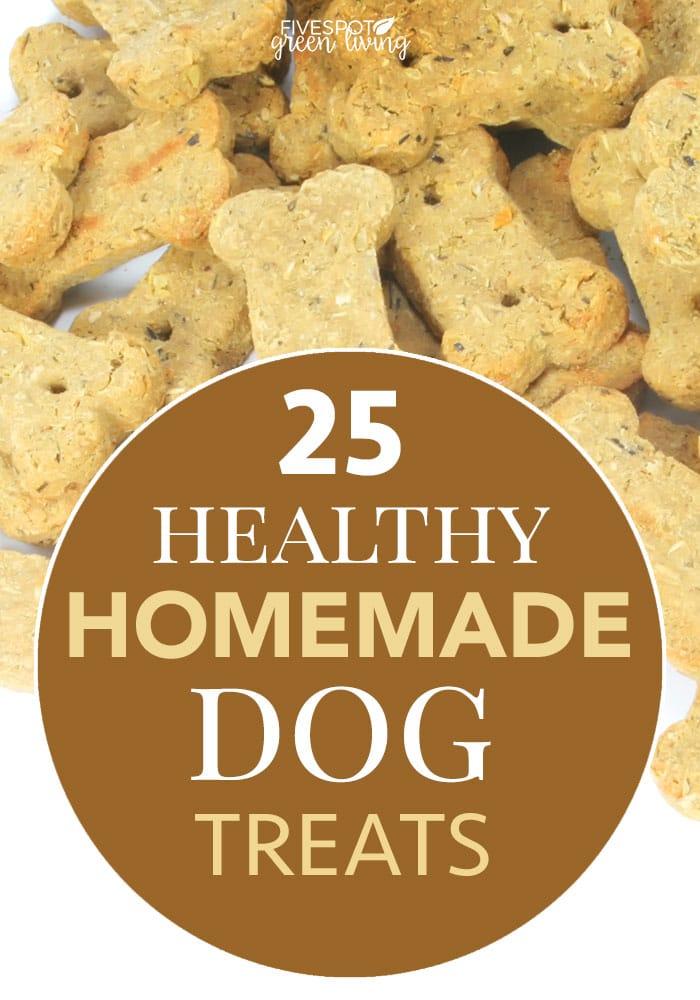 25 healthy homemade dog treats