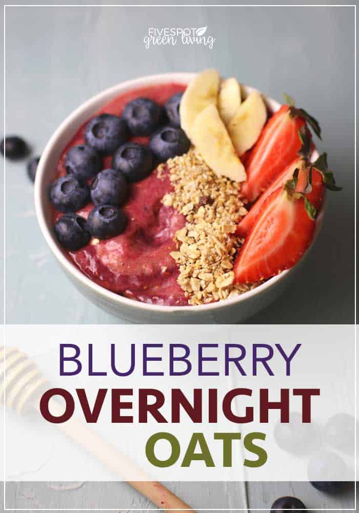 overnight blueberry oats recipe