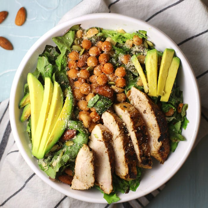 blog-chicken-chickpea-salad-2 Delicious Chicken Chickpea Salad with Avocado