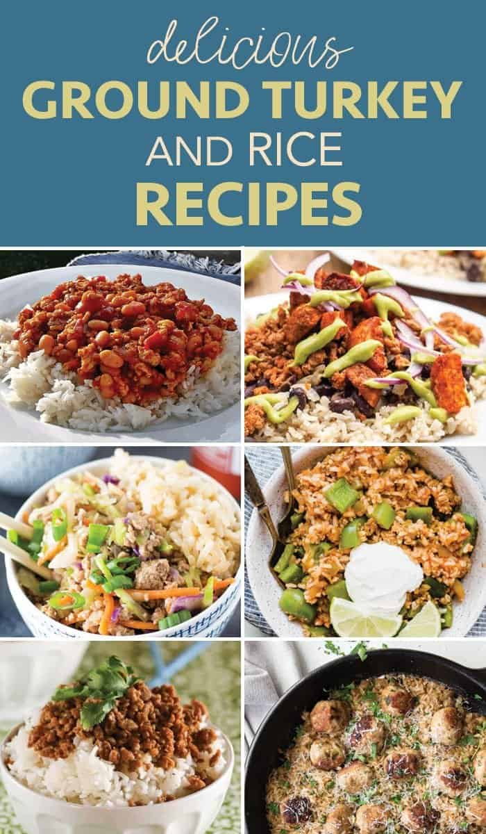 ground turkey and rice recipes