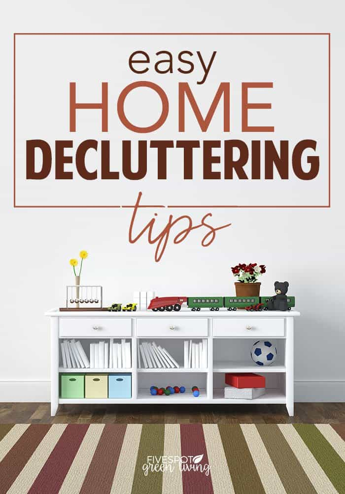 easy home decluttering tips