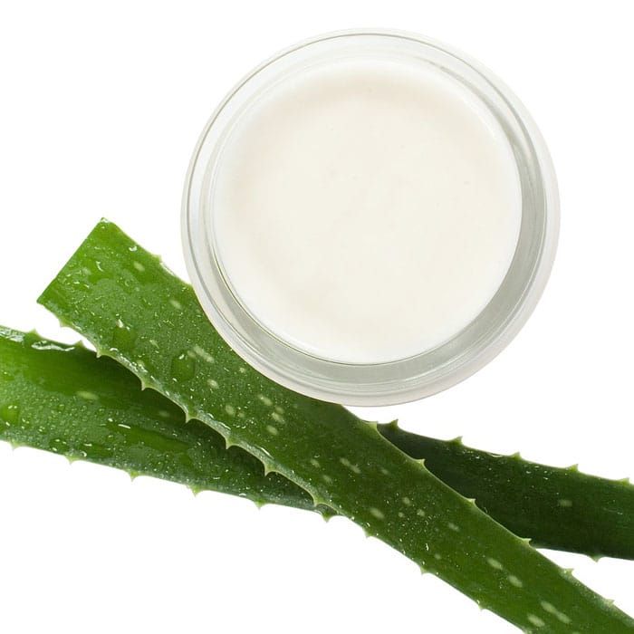 natural aloe ointment salve