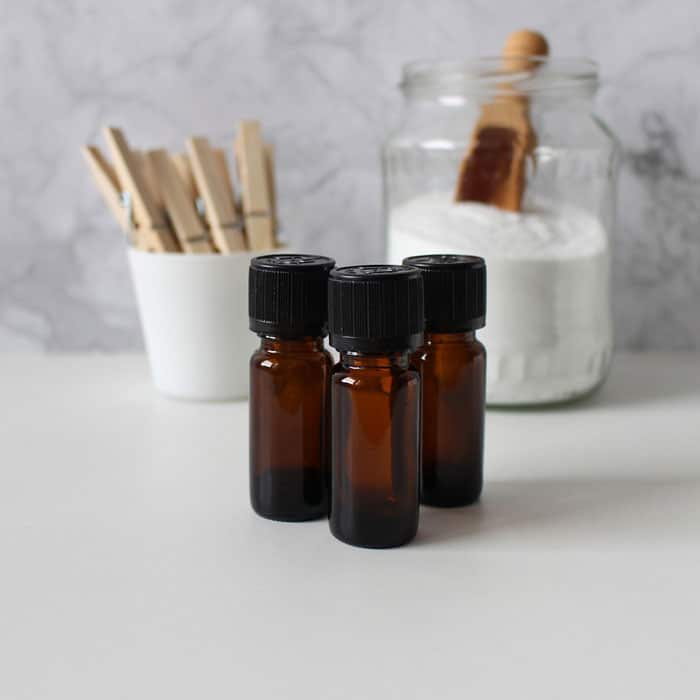small essential oil bottles