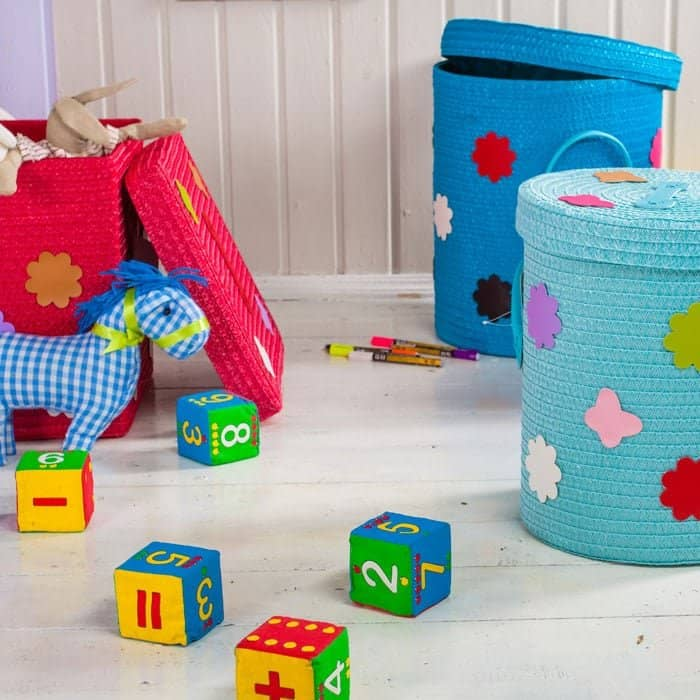 blog-toy-bins Easy Home Decluttering Tips