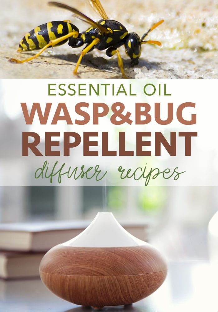 essential oil wasp repellent diffuser recipes