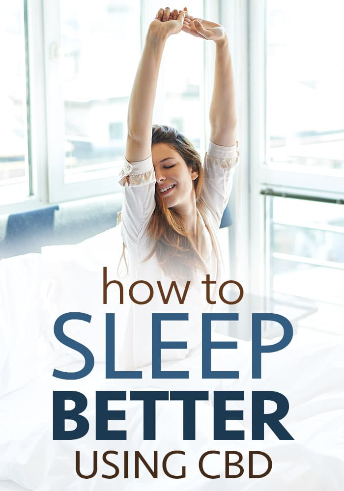 use cbd to sleep better
