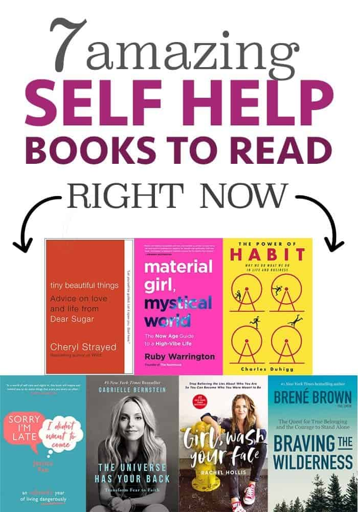 Read these amazing self help books today