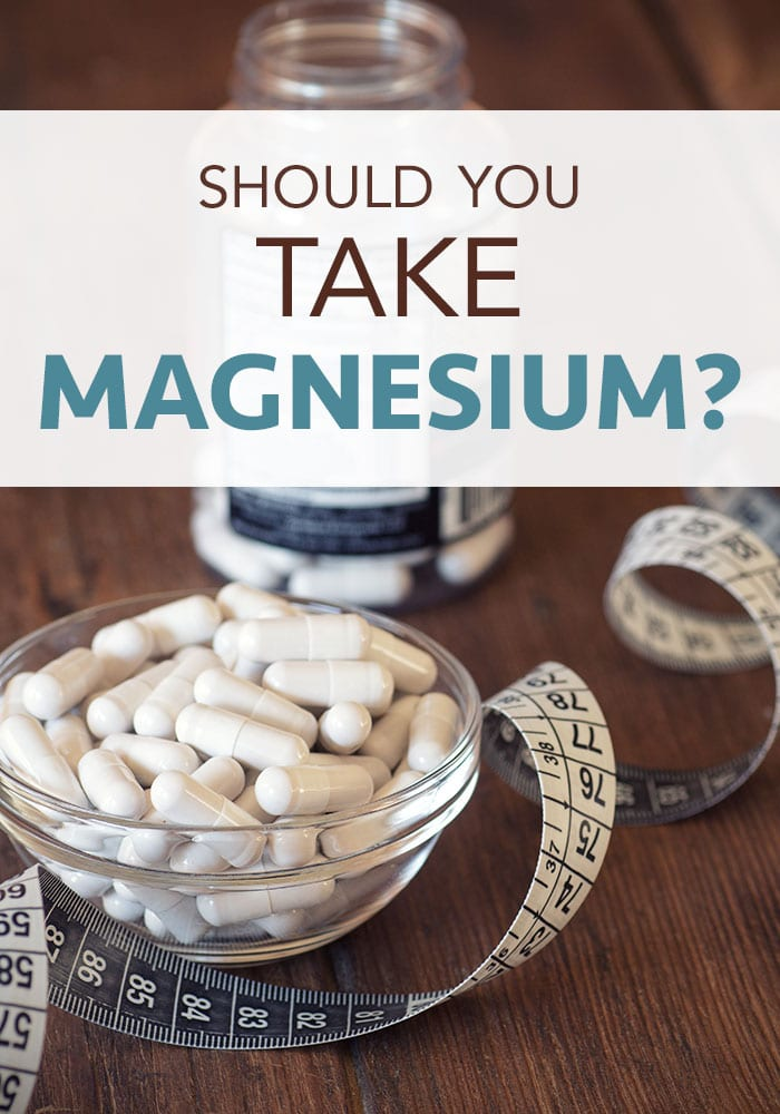 should you take magnesium
