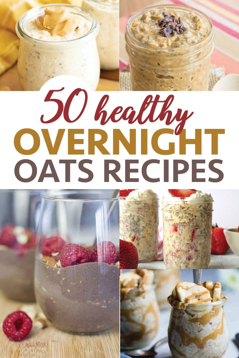 Overnight oats are a wonderfully easy and healthy make ahead breakfast!