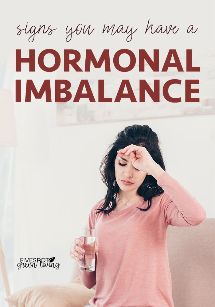 Woman not feeling well - Causes of a Hormone Imbalance and Symptoms You May Have One