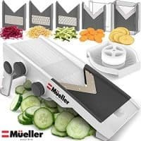 Mueller Austria Multi Blade Mandoline Cheese/Vegetable Slicer