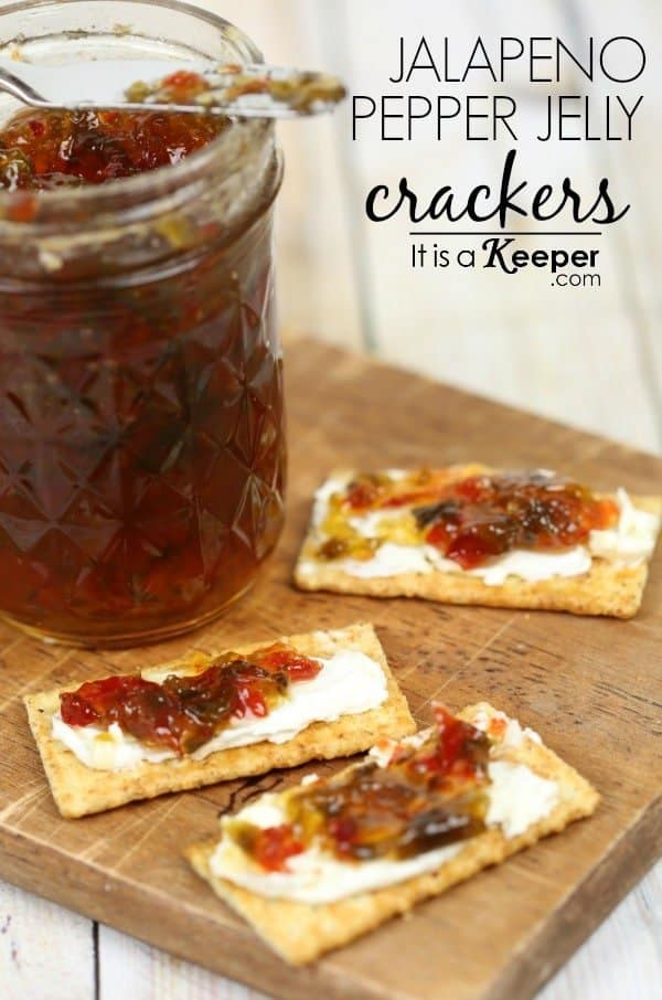Easy-Cold-Appetizer-Recipes-Jalapeño-Pepper-Jelly-Crackers-It-Is-a-Keeper-HERO 50 Tasty Cold Thanksgiving Appetizers