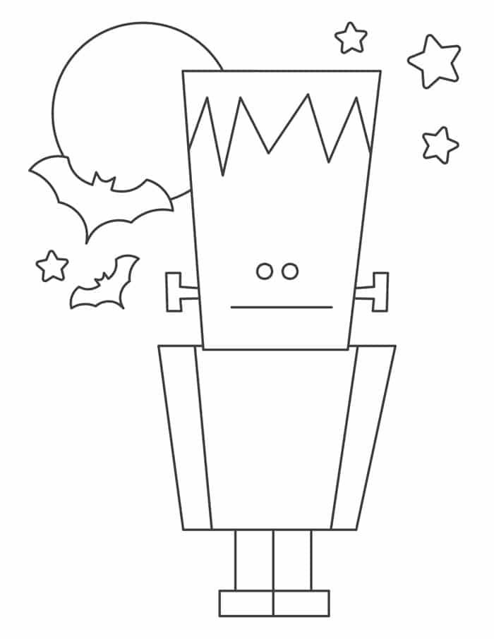blog-halloween-coloring-sheets-frankenstein Spooky and Fun Halloween Coloring Sheets