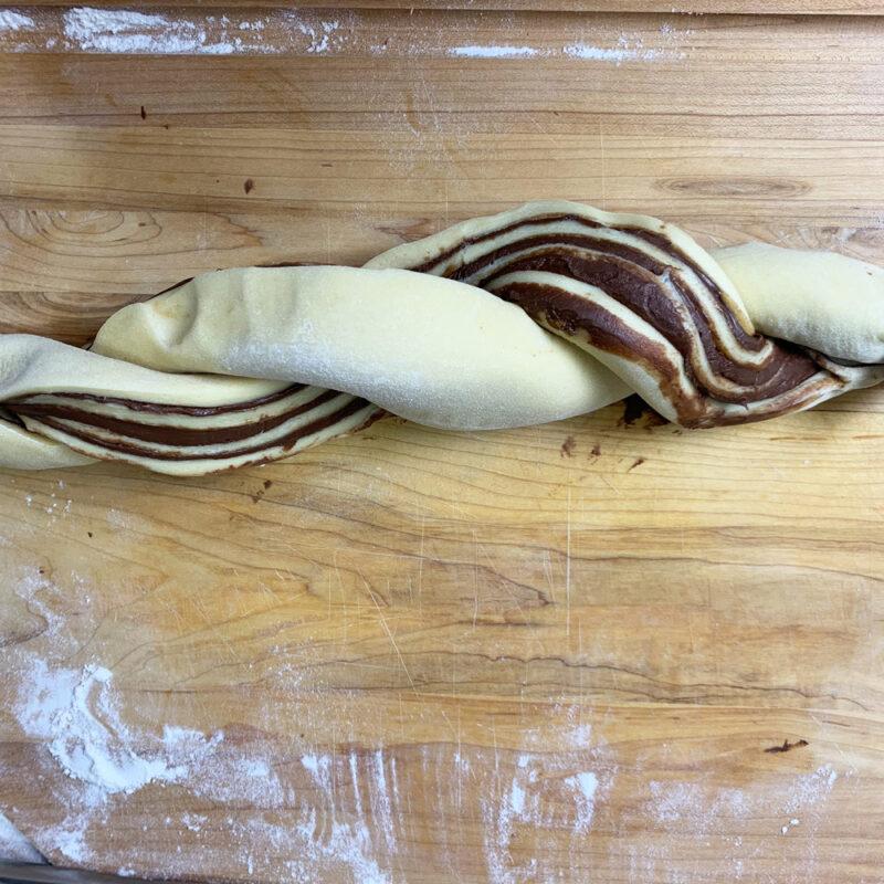 babka bread twisted