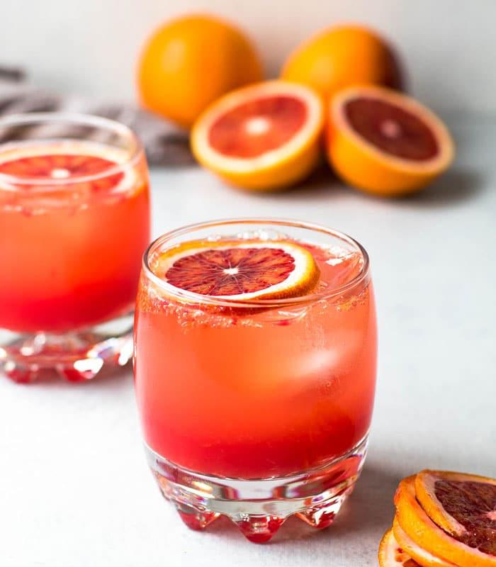 blood orange mocktail recipe