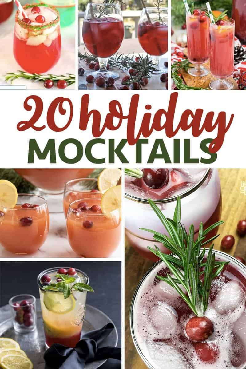 20 Holiday Mocktails Recipes that are so easy the whole family can enjoy them!