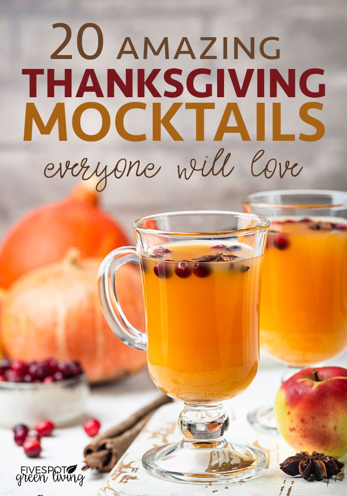 20 easy Thanksgiving mocktail recipes