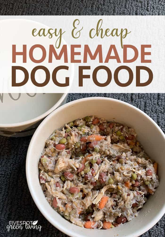 Easy and Cheap Homemade Dog Food