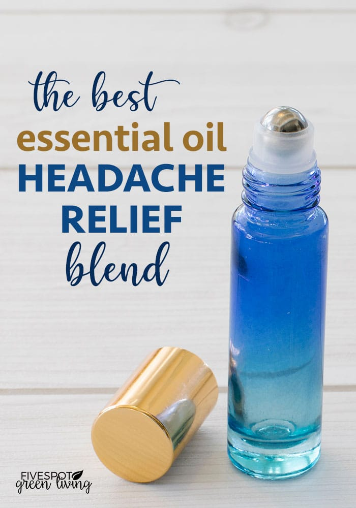 The best essential oil recipe for headaches