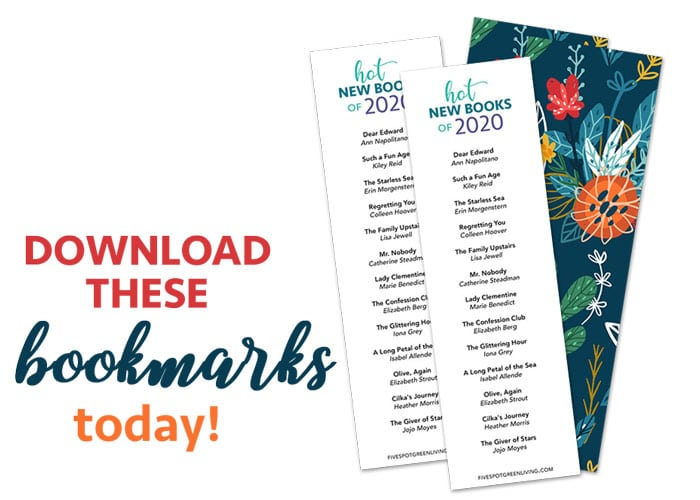 printable bookmarks hot new books 2020