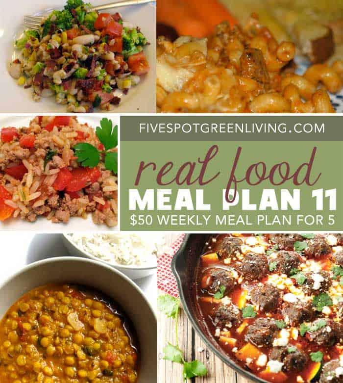 Healthy Meal Plan Volume 11