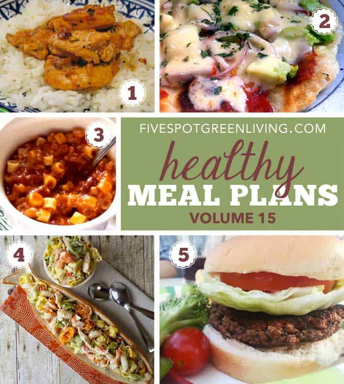 Healthy Meal Plan Monday Volume 15