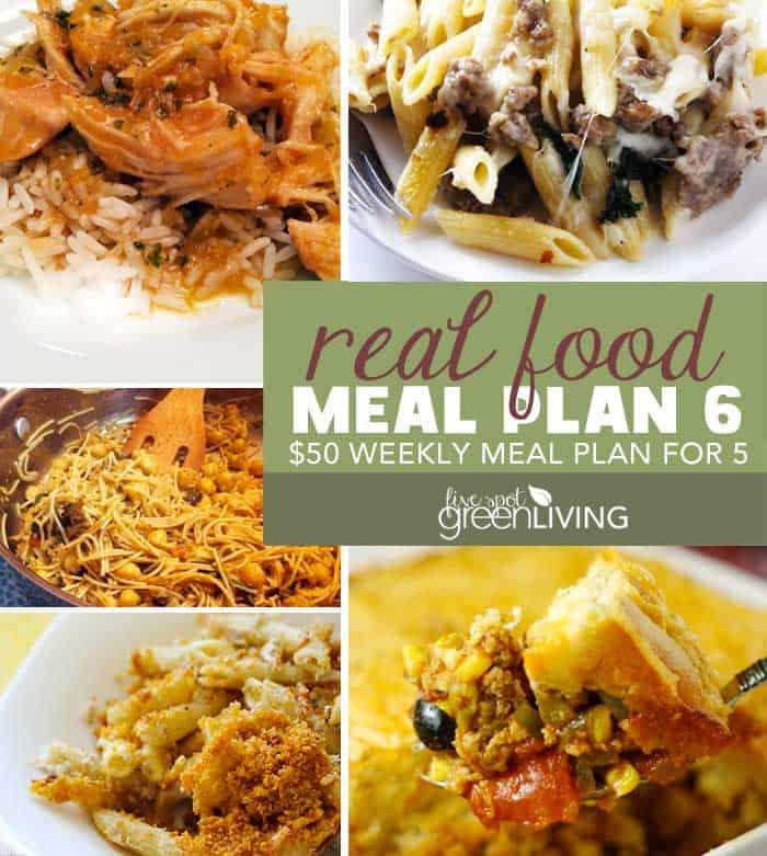 Healthy Meal Plan Volume 6