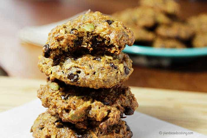 Carrot Chocolate Chip Cookies (video)