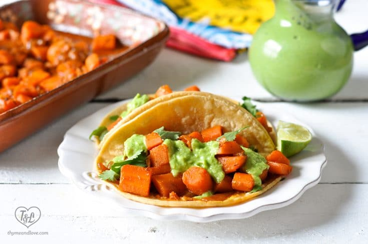 Braised Carrot Tacos