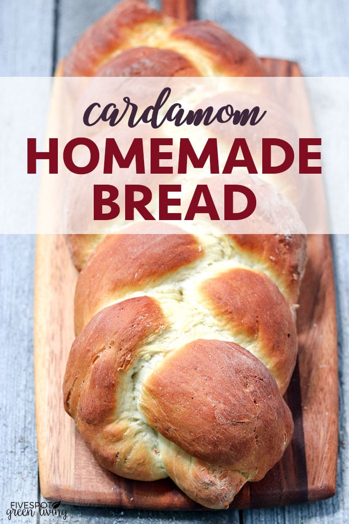 cardamom homemade bread recipe