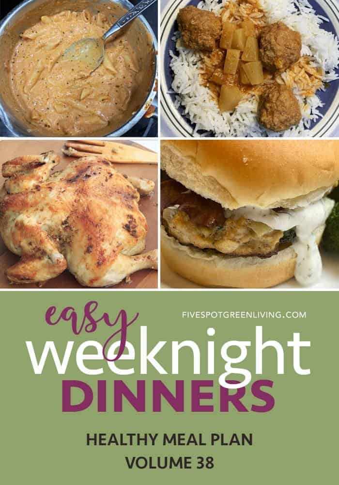 easy weeknight dinners volume 38