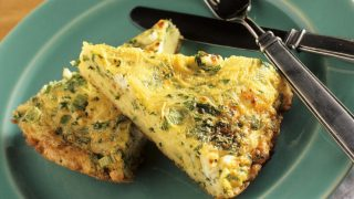 Leftover Pasta? Make This Cheesy Pasta Frittata with Basil