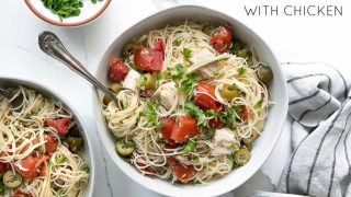 15-Minute Angel Hair Pasta Recipe with Chicken