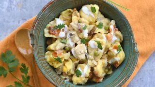 Crock Pot Chicken Recipe with Tortellini