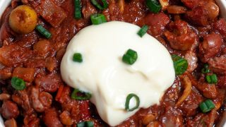 Easy Vegetarian Bean Chili (Ultimate Vegan Chili)