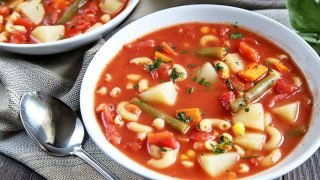 Easy Vegetable Pasta Soup Is Hearty and Healthy