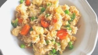 Super Fast Vegetable Fried Rice