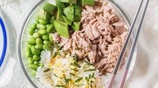 Homemade Tuna Sushi Bowl