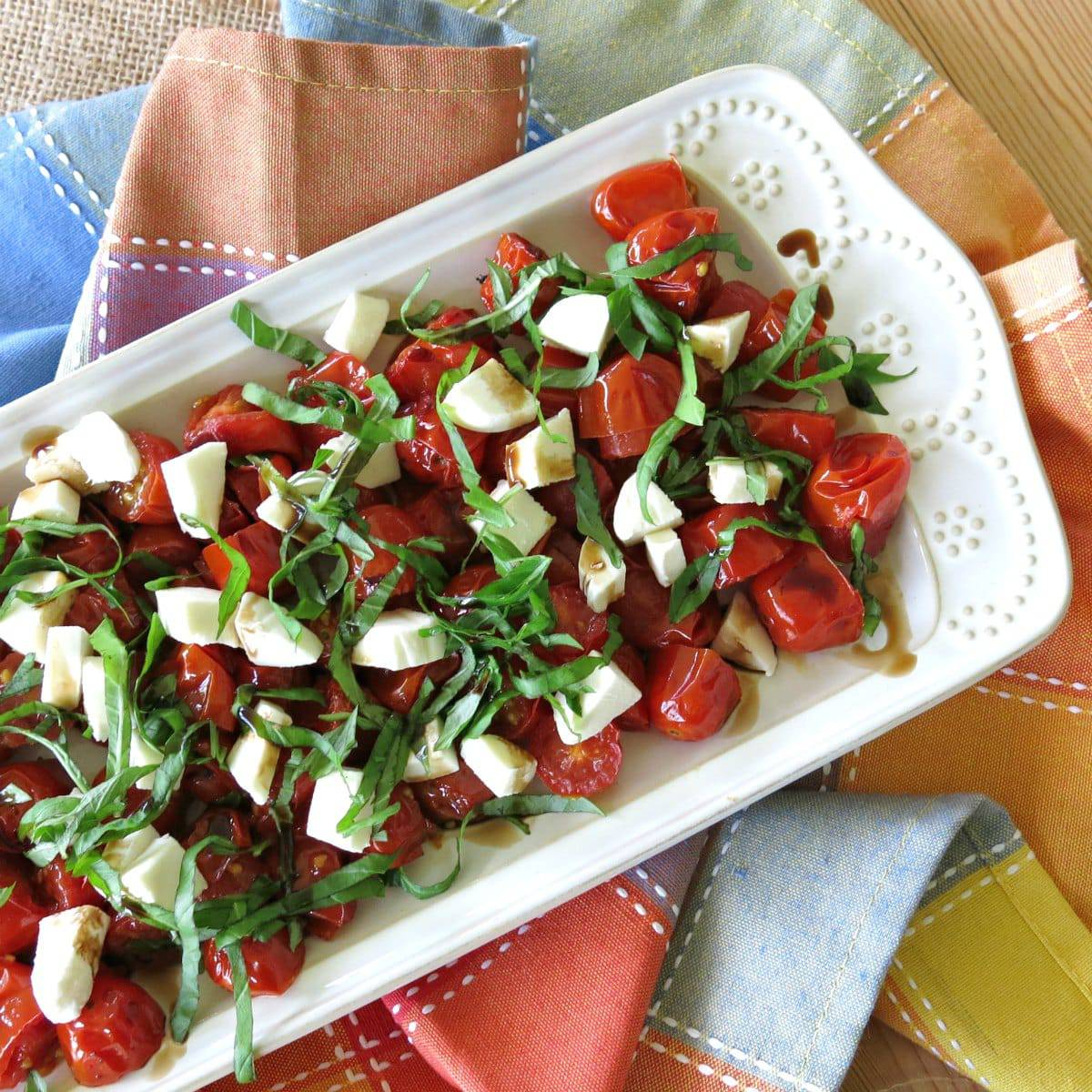 Roasted Grape Tomato Salad