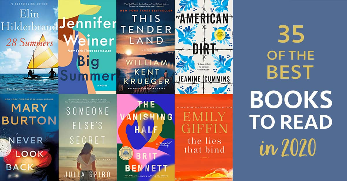 35 best books to read in 2020