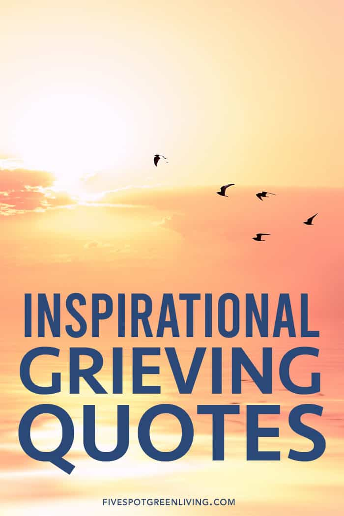 Grieving Inspirational Quotes for Healing