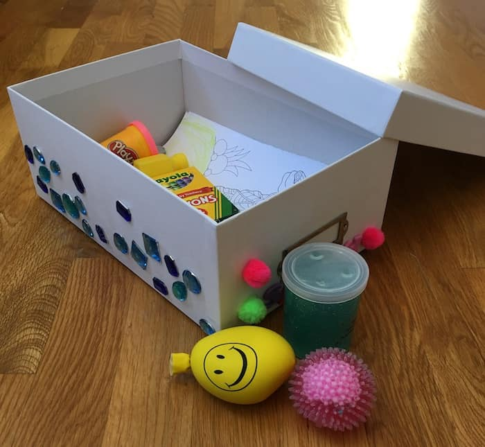 calm box for kids