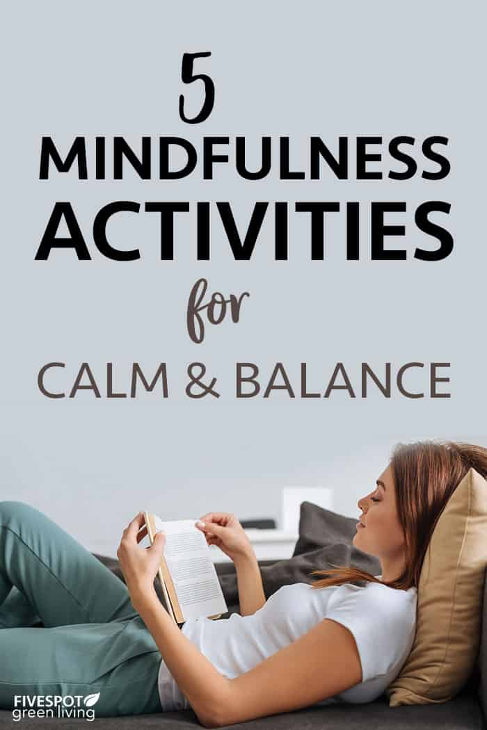 mindfulness activities for calm and balance