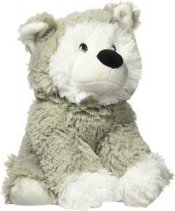 warmies husky stuffed animal