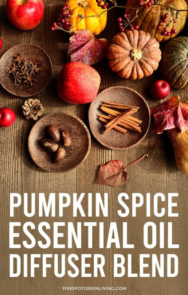 pumpkin spice essential oil