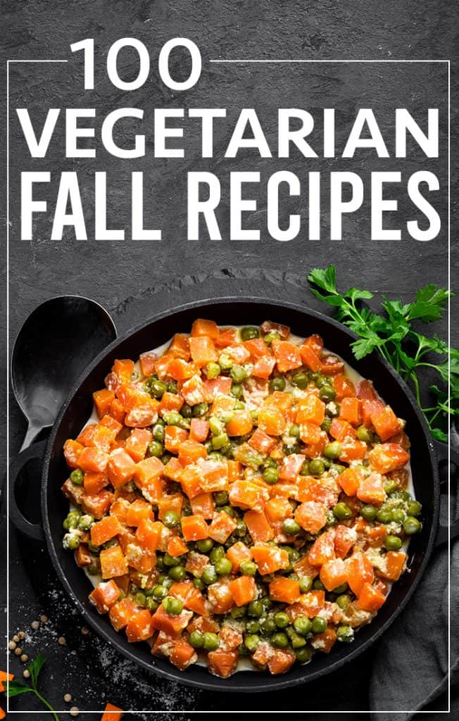 100 vegetarian fall recipes