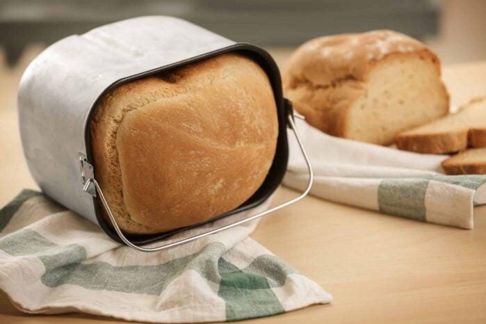 bread machine bucket