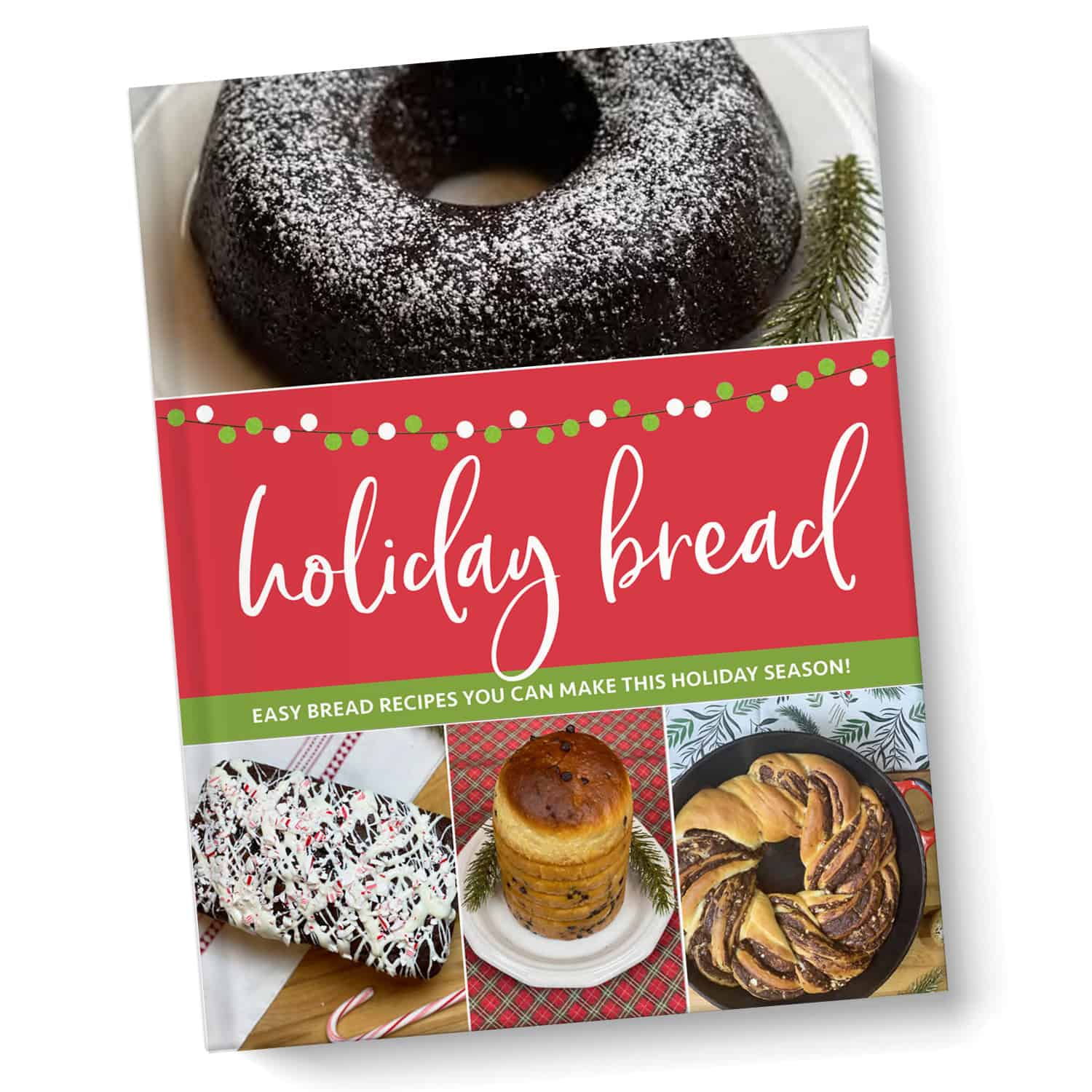 holiday bread cookbook hardcover