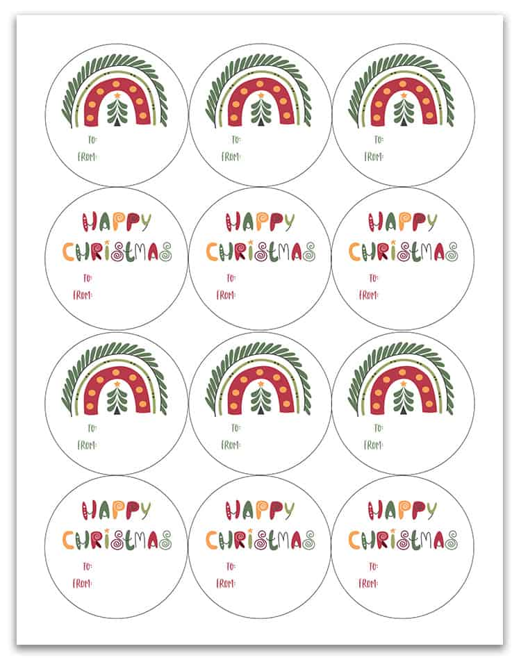 download free happy christmas tags